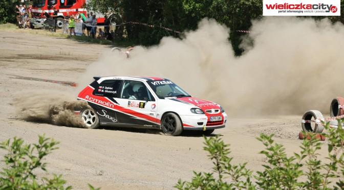 Gorący Rally Sprint w Wieliczce.